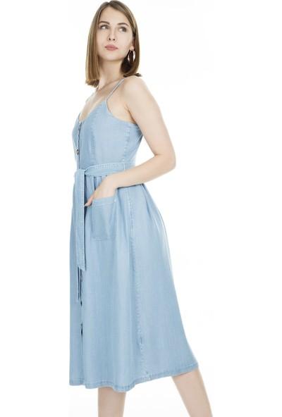 Only Onlwanda Strap Kot Elbise Kadın Elbise 15176631