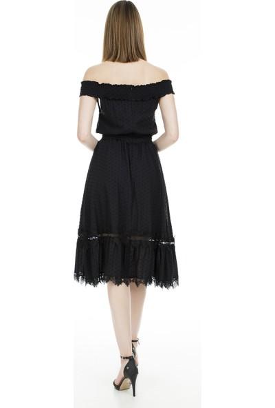 Ekol Carmen Yaka Elbise Kadın Elbise 0234084