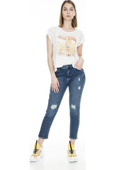 Lela Jeans Kadın Kot Pantolon 8522G520Nicole