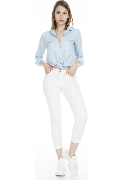Lela Jeans Kadın Kot Pantolon 8522F413Nicole