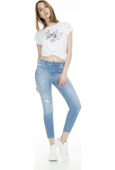 Lela Jeans Kadın Kot Pantolon 8523F3431Martha