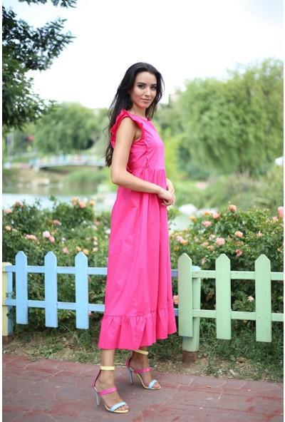 Her Mod'A Bir Moda Uzun Yazlık Elbise