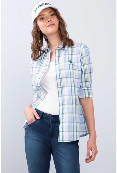 U.S. Polo Assn. Kadın Dokuma Gömlek 50208980-Vr003