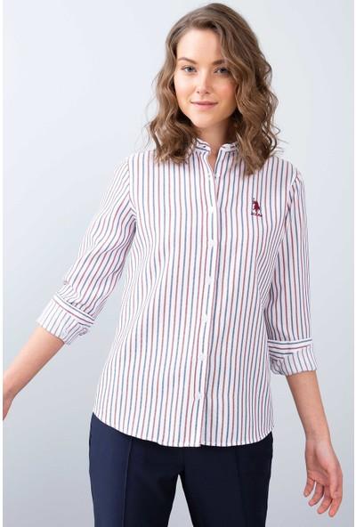 U.S. Polo Assn. Kadın Dokuma Gömlek 50208996-Vr013
