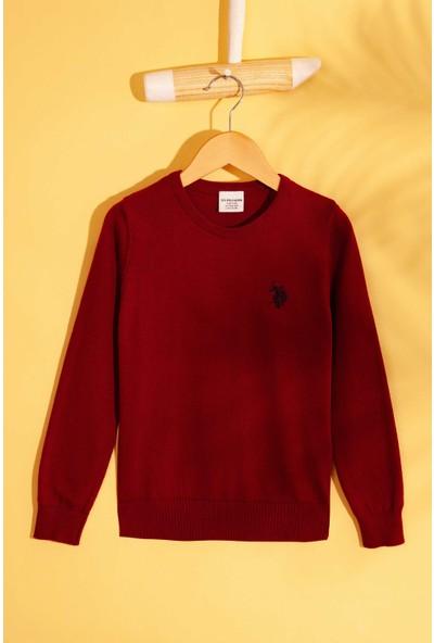 U.S. Polo Assn. Erkek Çocuk Triko Kazak 50213240-Vr014