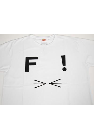 Özge Güven Tasarımı Felis Logolu T-Shirt
