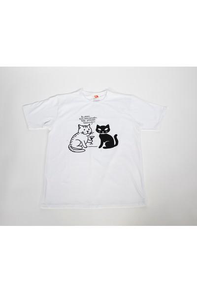 Uğurcan Ataoğlu Tasarımı Felis Logolu T-Shirt
