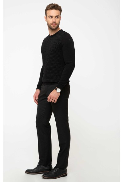 Pierre Cardin Siyah Slim Fit Pantolon 50215388-VR046