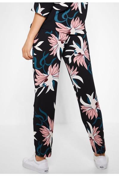 Only Kadın Yazlık İnce Desenli Pantolon 15169648 Jdypıper Pant