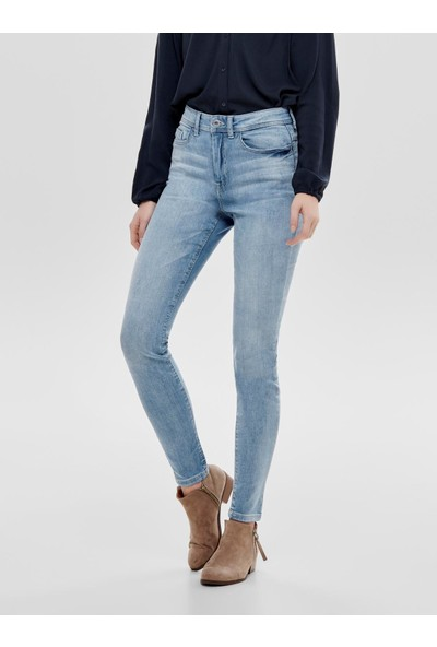 Only Kadın Jdy Jona Skinny High Light Blue Jean Pantolon 15171481