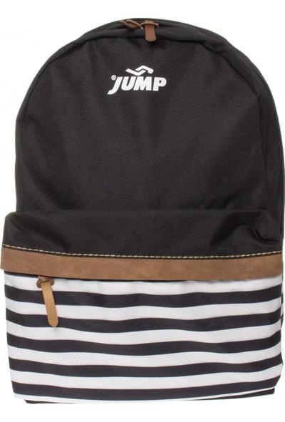 Jump 1061 9K Okul Sirt Siyah Unisex Çanta