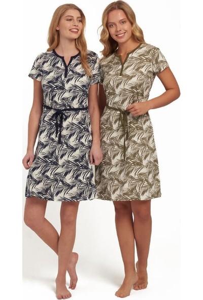 Mod 3140 Kadın Elbise Lacivert