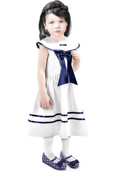 Oulabimir Denizci Kız Çocuk Elbise