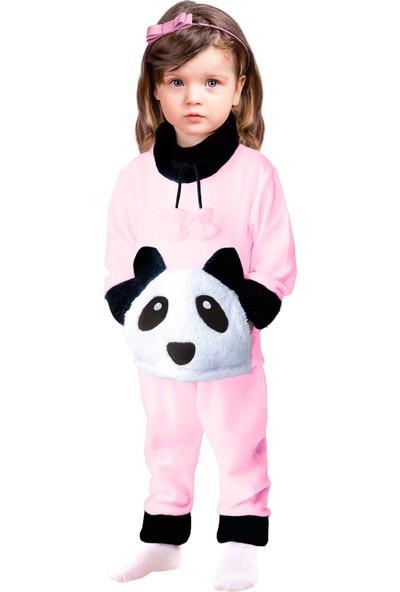 Oulabimir Baskılı Pijama Takımı Kız Çocuk Polar