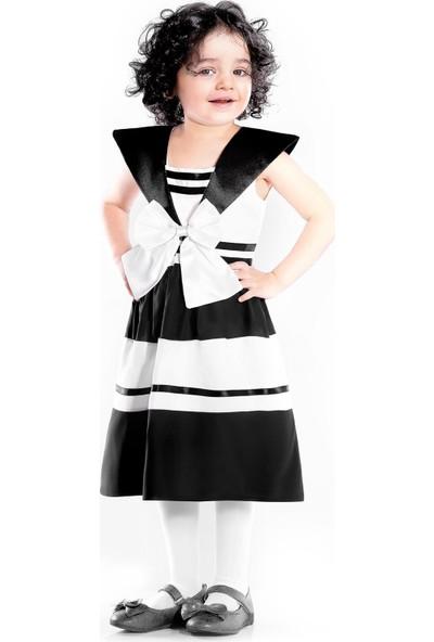 Oulabimir Yazlık Fiyonklu Kız Elbisesi