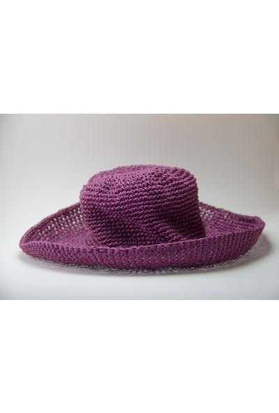 HL Organik Kadın Hasır Şapka