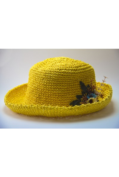 HL Organik Kadın Örgü Melon Şapka