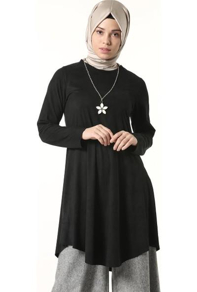 Butik Melina Tunik-Siyah 2516-01