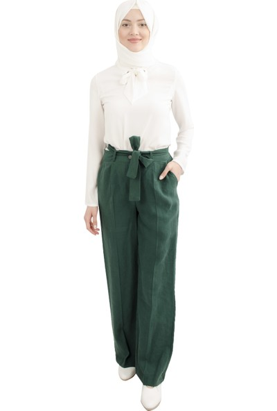 Arda New Line Kadın Yeşil Pantolon 0303686-10.07