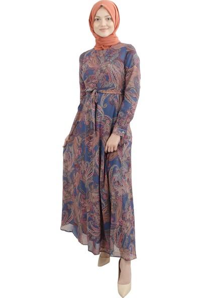 Arda New Line Kadın Lacivert Elbise 0807516-10.02