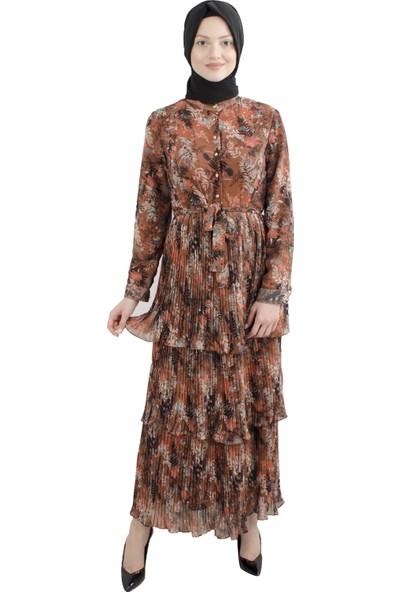 Arda New Line Kadın Tarçın Elbise 3304172-10.51