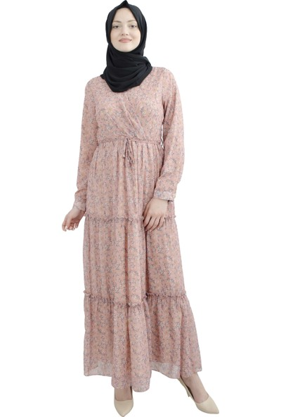 Arda New Line Kadın Pudra Elbise 3304191-11.79
