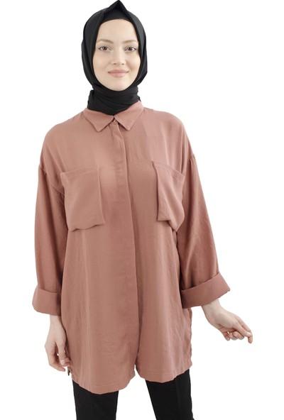 Arda New Line Kadın Gül Bluz 5303348-10.25