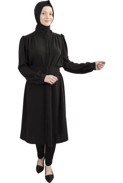 Arda New Line Kadın Siyah Elbise 5305167-10.01