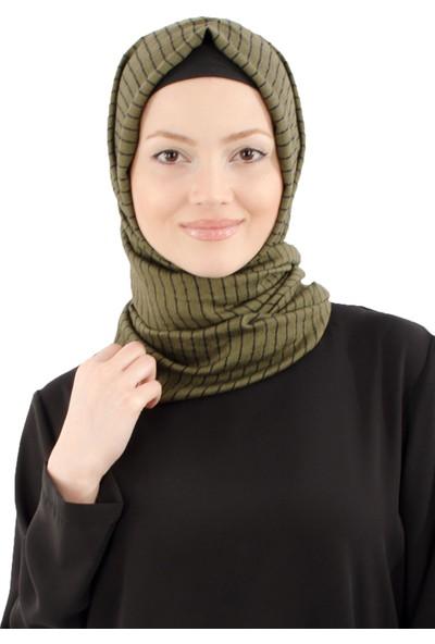 Arda New Line Kadın Haki Şal 8201030-10.23
