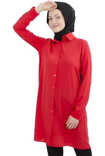 Arda New Line Kadın Kırmızı Tunik 9201541-10.08