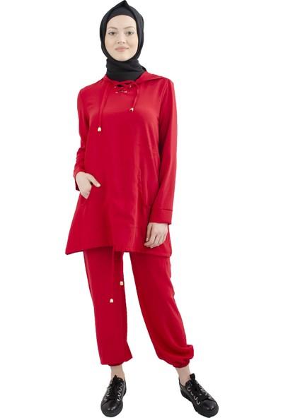 Arda New Line Kadın Kırmızı Takım 9201545-10.08
