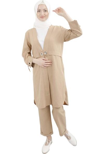 Arda New Line Kadın Camel Takım 9402202-10.09