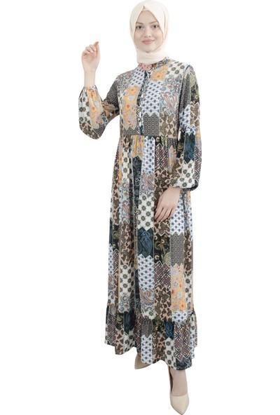 Arda New Line Kadın Hardal Elbise 9403209-10.52
