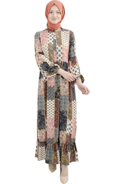 Arda New Line Kadın Pudra Elbise 9403209-10.79