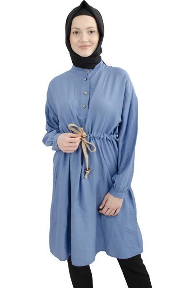 Arda New Line Kadın Mavi Tunik 9407651-10.16
