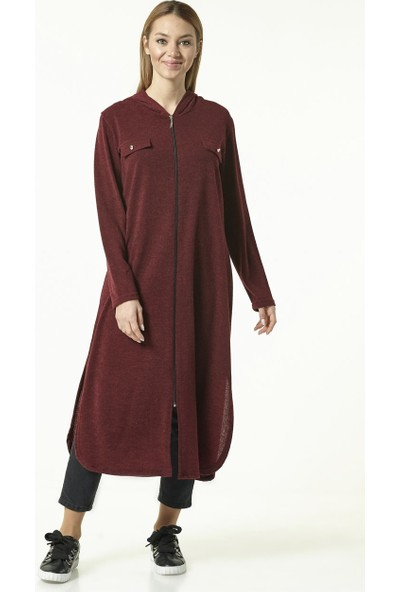 Nevbahar Tunik-Bordo 8004-67
