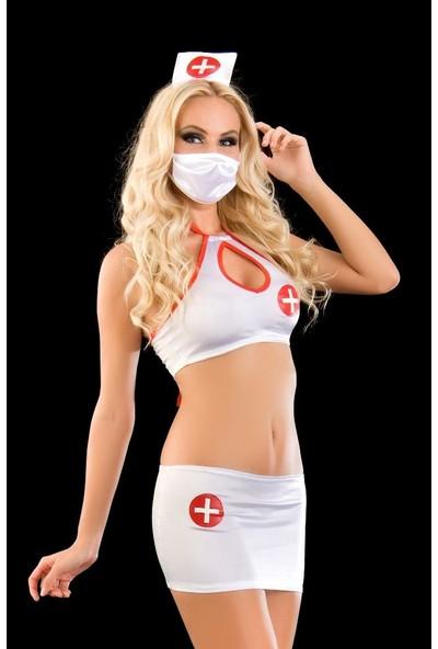 LQ Fantazi Hemşire Kostümü Takımı