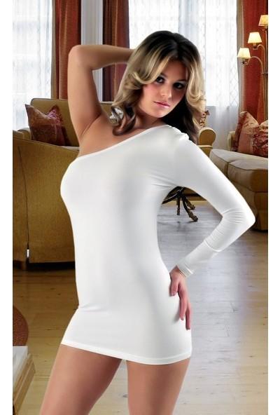 JT Asimetrik Dizayn Mini Elbise 120638