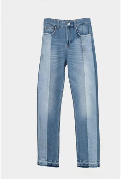 Coten Concept Parçalı Kot Pantolon