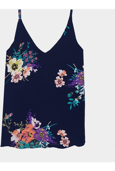 Coten Concept Çiçek Desenli Bluz
