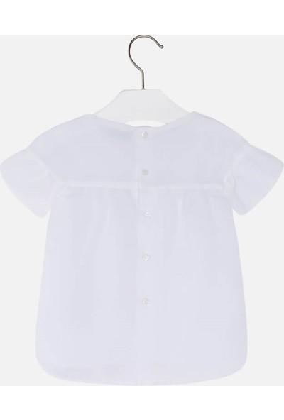 Mayoral 2-9 Yaş Kız Çocuk Yaka Modelli Bluz