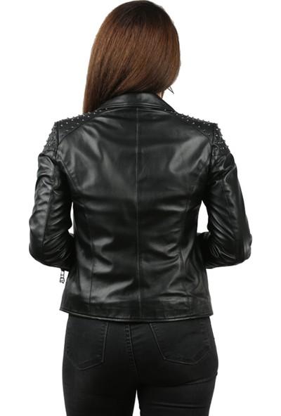 Franko Armondi Natural Kadın Deri Ceket