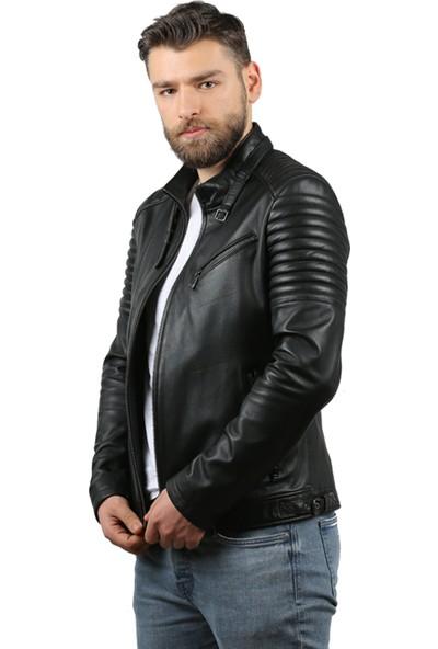 Franko Armondi Natural Erkek Deri Ceket