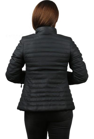 Franko Armondi Tafta Kadın Deri Ceket