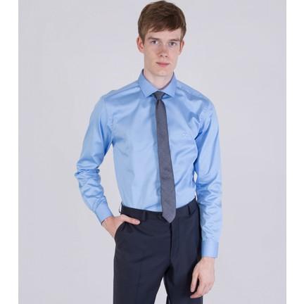 b13a3c35d6c6f Çift Geyik Karaca Erkek Slim Fit Klasik Gömlek Mavi Fiyatı