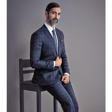 51775b3559d10 Çift Geyik Karaca Erkek Regular Fit 6 Drop Klasik Takım Elbise Lacivert. ‹ ›