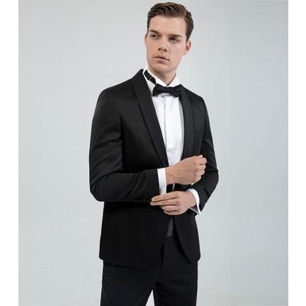 9e4b1643843c4 Karaca Erkek Slim Fit 6 Drop Seremoni Takım Elbise Siyah Fiyatı