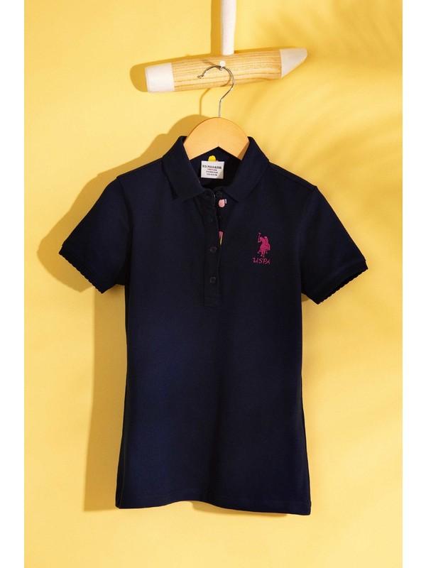 U.S. Polo Assn. Kız Çocuk T-Shirt 50202240-Vr033