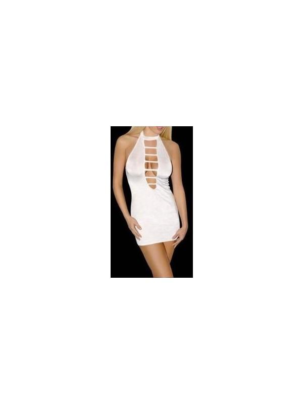 JT Özel Kesim Pencereli Mini Elbise