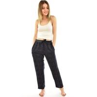 Arcan 9000 Kadın Puantiyeli Cepli Şalvar Pantolon - Lacivert